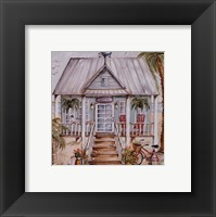 Framed Green Beach House