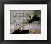 London Hat Framed Print