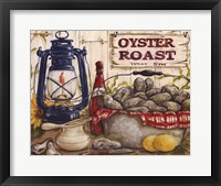 Oyster Roast Framed Print