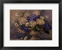 GLOBAL BOUQUET Framed Print