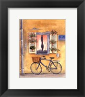 French Bicycle I Framed Print