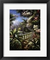 Framed Paradise Fountain