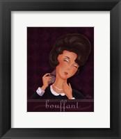 Bouffant Framed Print