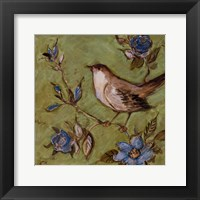 Native Finch II Framed Print