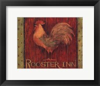 Framed Rooster Inn
