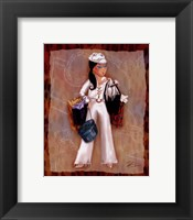 Time To Shop II Framed Print