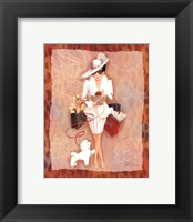 Time To Shop III Framed Print