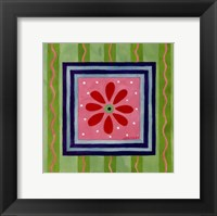Framed Flower Power III