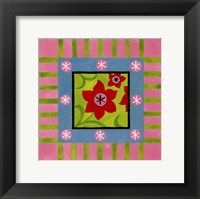 Flower Power IV Framed Print