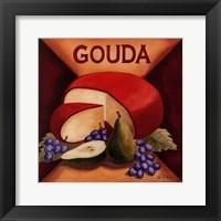 Gouda Framed Print