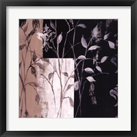 African Leaf Abstract I Framed Print