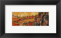 Bassa Toscana Framed Print