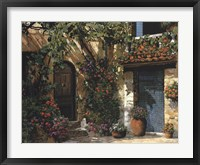 Framed Il Giardino Fiorito