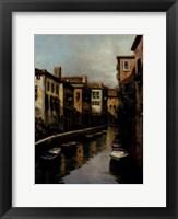 Framed Waterways At Dawn