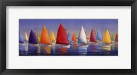 Flying Colors Framed Print