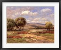 Framed Autumn Meadow