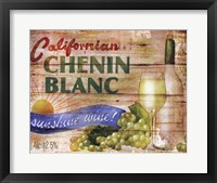 Framed Californian Chenin Blanc