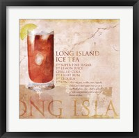 Long Island Ice Tea Framed Print