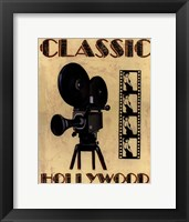 Classic Hollywood Framed Print