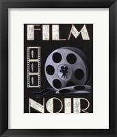Film Noir Framed Print