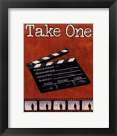 Take One Framed Print