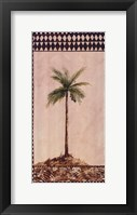 Tribal Palm ll Framed Print