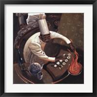 Framed Chefs in Motion I