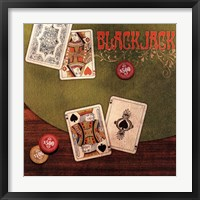 Framed Black Jack