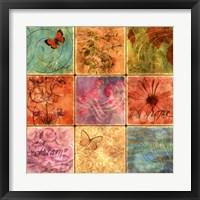 Framed Inspirational Squares II