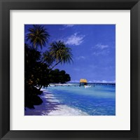 Framed Tropical Paradise II