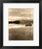 Serenity Lake I Framed Print