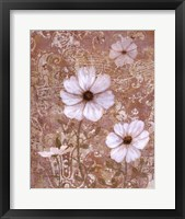 Lace Flowers I Framed Print