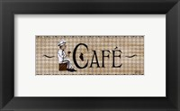 Framed Cafe'