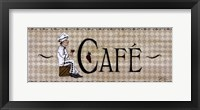 Cafe' Framed Print