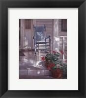 Framed Georgia's Rocking Chair