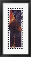Slim Chicken II Framed Print