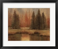 Meadow Pines Framed Print