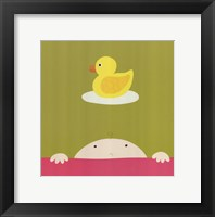 Wash Me Framed Print