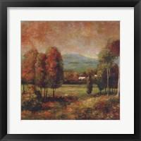 Framed Berkshire Memory II