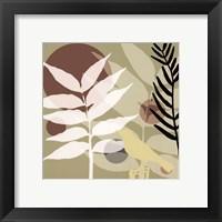 Organic Zen I Framed Print
