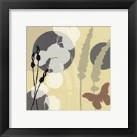 Organic Zen III Framed Print