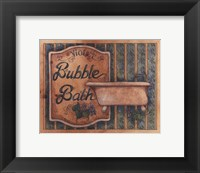 Framed Bubble Bath