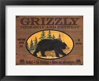 Framed Grizzly