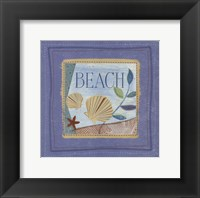 Beach Framed Print