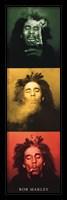 Framed Bob Marley  - 3 Pics