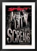 Framed Spirit - My City Screams