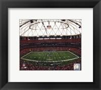 Framed Georgia Dome 2008