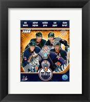 Framed 2008-09 Edmonton Oilers Team Composite