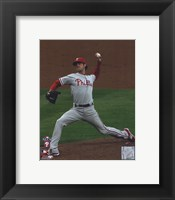 Framed Cole Hamels 2008 Game 5 NLCS