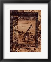Framed Animal Safari ll